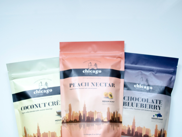Chicago French Press Coffee Packaging photographed by Hire Henri Creative