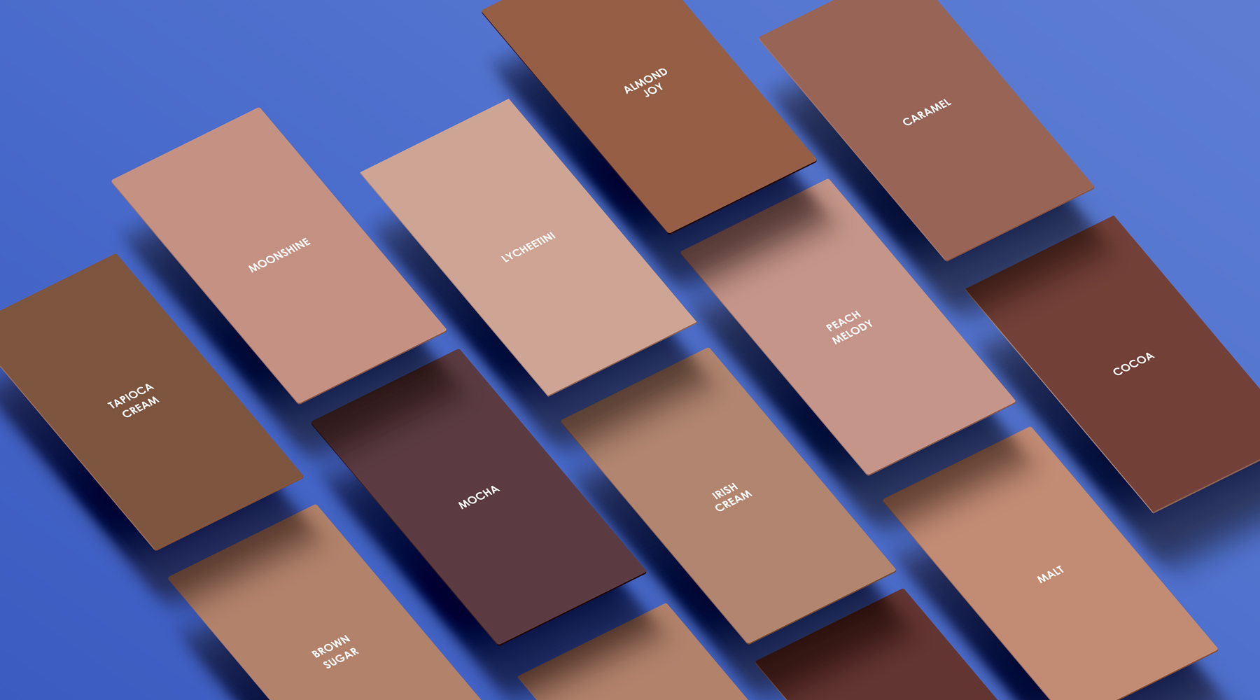 Nude comes in all shades, what's your color. 12 color pantones listed for Nude Barre