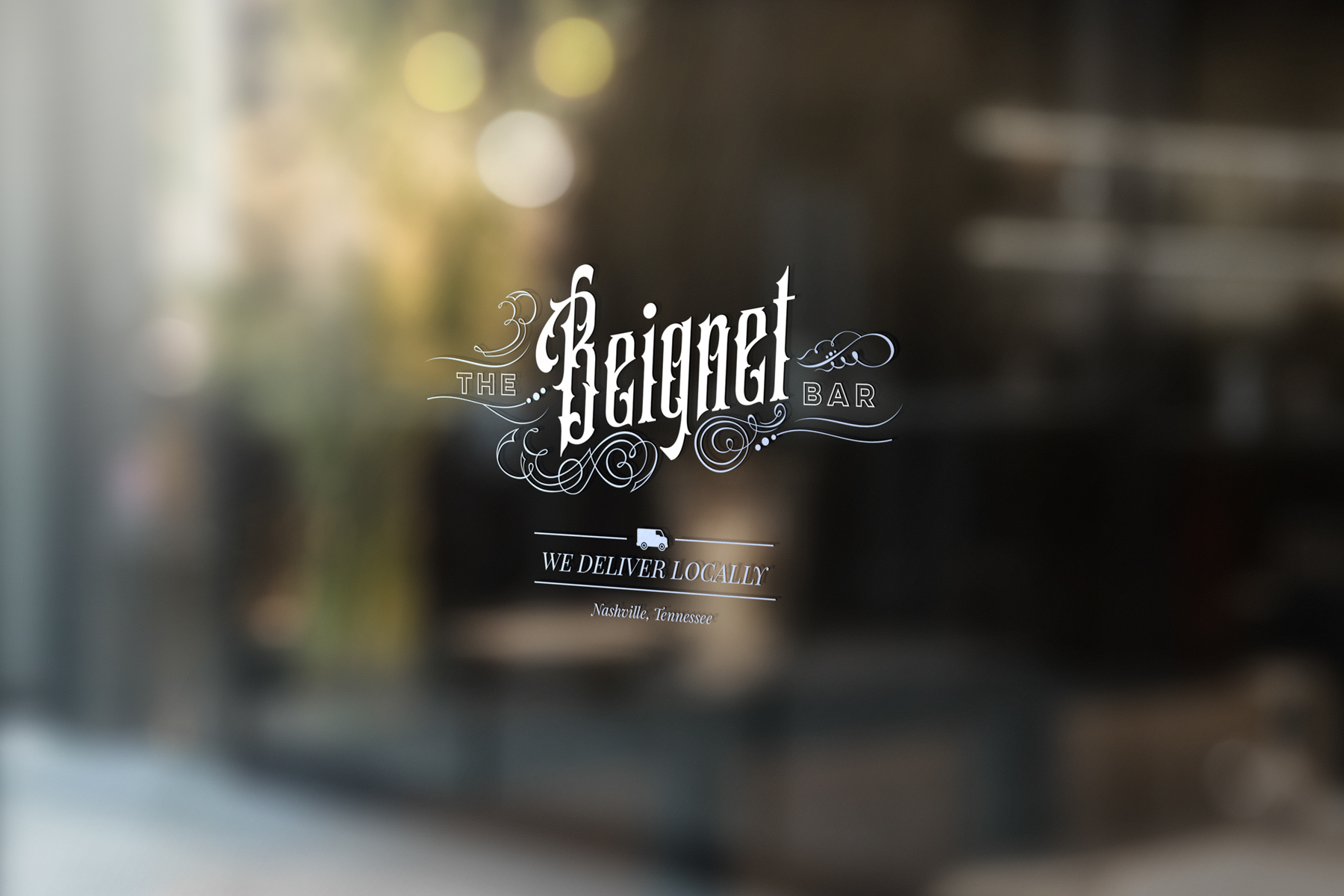 The Beignet Bar Logo design by Hire Henri Creative in Chicago Illinois
